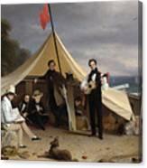 Greenwich Boat Club Canvas Print