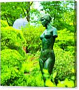 Greenwich Garden Canvas Print