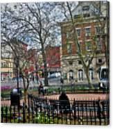Greenwich Village New York City Canvas Print