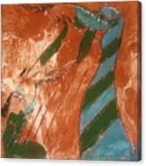 Greeting - Tile Canvas Print