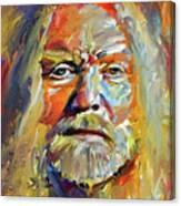 Greg  Allman Tribute Portrait Canvas Print
