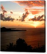 Grenadian Sunset  II Canvas Print