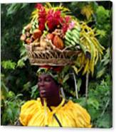 Grenadian Woman Canvas Print