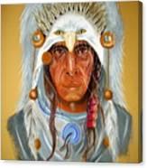 Grey Eagle... Canvas Print