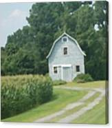 Grey Farmhouse - Northern Neck Canvas Print