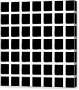 Black Squares Canvas Print