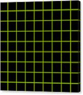 Grid Boxes In Black 09-p0171 Canvas Print