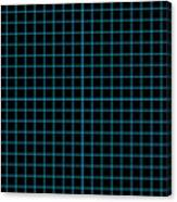 Grid Boxes In Black 18-p0171 Canvas Print
