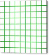 Grid Boxes In White 09-p0171 Canvas Print