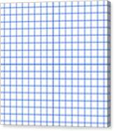 Grid Boxes In White 18-p0171 Canvas Print