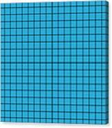 Grid In Black 18-p0171 Canvas Print