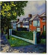 Griffith Avenue Dublin  Canvas Print