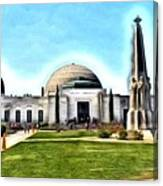 Griffith Observatory, Los Angeles, California Canvas Print
