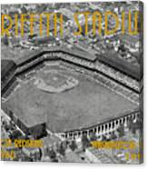 Griffith Stadium Canvas Print