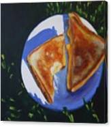 Grilled Cheese Picnic Canvas Print