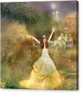 Grimms Fairie Cinderella  Canvas Print
