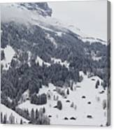 Grindelwald In Winter 3 Canvas Print