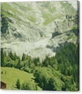Grindelwald Switzerland 7 Canvas Print