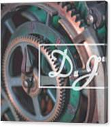 Grinding My Gears Canvas Print