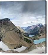 Grinnell Glacier Overlook Vista - Glacier National Park Canvas Print