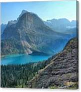 Grinnell Lake - Many Glacier Canvas Print