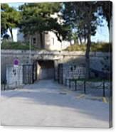 Gripe Fort Entrance Canvas Print