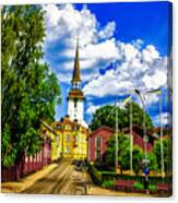 Gripsholm Church Canvas Print