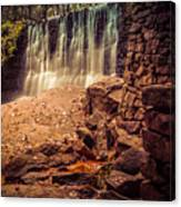 Grist Mill Water Fall Canvas Print