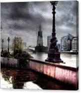 Gritty Urban London Landscape Canvas Print