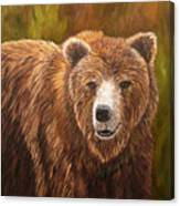 Grizzley Canvas Print