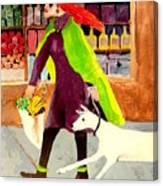 Grocery Run Canvas Print