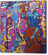 Groovy Music Canvas Print