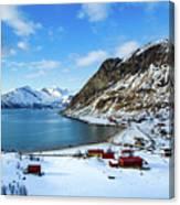 Grotfjord Norway Canvas Print