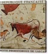 Grotte Prehistorique De Lascaux Canvas Print