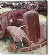Grounded Chevy Canvas Print