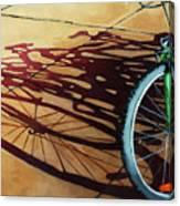 Group Hug - Bicycle Art Canvas Print