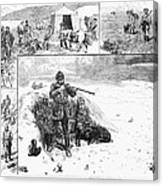 Grouse Hunting, 1887 Canvas Print