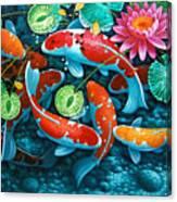 Growing Affluence Canvas Print