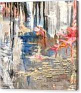 Growing Cliffside Canvas Print