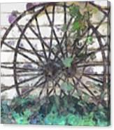 Growing Wheels Canvas Print