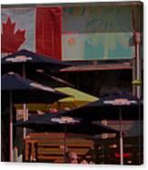 Growling Gator Canada 150 Two Canvas Print