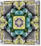 Grren Stones Canvas Print