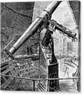 Grubb Refractor Telescope, Vienna, 1881 Canvas Print
