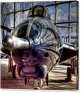 Grumman F9f-8 F-9j Cougar Canvas Print