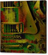 Grunge Metal Canvas Print