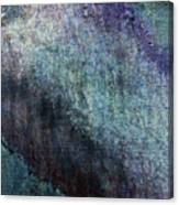 Grunge Texture Blue Ugly Rough Abstract Surface Wallpaper Stock Fused Canvas Print
