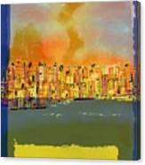 Gto Dusk Canvas Print