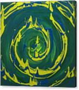 Guacamole Swirl Canvas Print