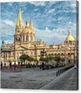 Guadalajara Cathedral Canvas Print