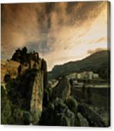 Guadalest Canvas Print
